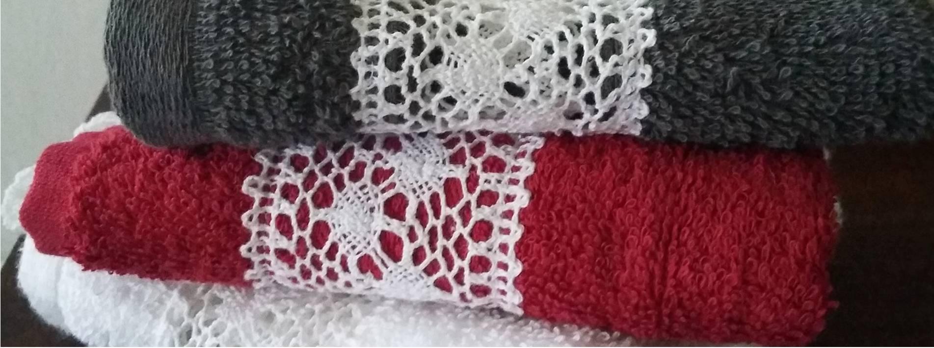 Handdoeken Landelijk en Brocante Atelier de Knopendoos